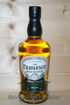Dubliner irish Whiskey mit 40% - blended irish Whiskey