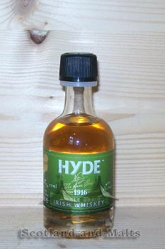 Hyde 6 Jahre - No. 3 The Aras Cask Miniatur - single Grain irish Whiskey