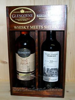 Glengoyne 13 Jahre - Whisky meets Sherry 2nd Edition - Pedro Ximénez / One Cask - Two Brands