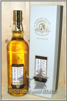 Bruichladdich 1992 -  19 Jahre Oak Cask No. 3674 - Duncan Taylor New Dimension