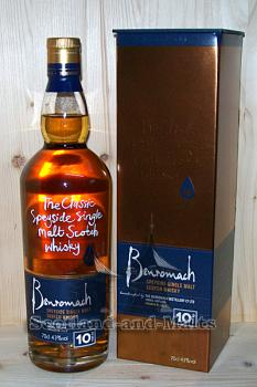 Benromach 10 Jahre - Speyside Single Malt Scotsh Whisky