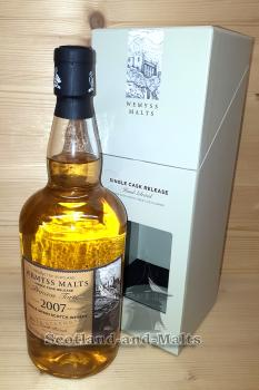 North British 2007 / 2017 - Princess Torte - 9 Jahre Bourbon Hogshead mit 64,8 % - Wemyss Malts