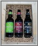 Bier Geschenkbox - Irish Pale Ale + Irish Red + Irish Stout - Oharas Brewery aus Irland
