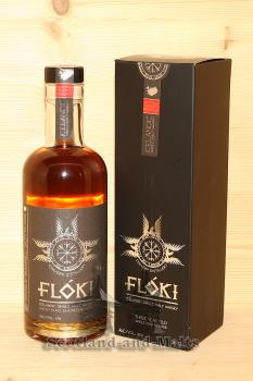 Floki Sheep Dung smoked Reserve Barrel 1 mit 47,0% - Iceland single Malt Whisky aus der Eimverk Distillery in Island