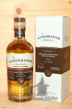 Kingsbarns Dream to Dram Lowland single Malt Whisky mit 46,0%
