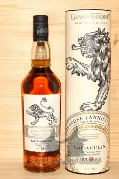Lagavulin 9 Year Old - Game of Thrones House Lannister - single Malt scotch Whisky