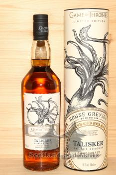 Talisker Select Reserve - Game of Thrones House Greyjoy - single Malt scotch Whisky