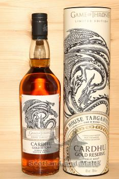 Cardhu Gold Reserve - Game of Thrones House Targaryen - single Malt scotch Whisky