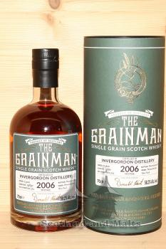 Invergordon 2006 - 12 Jahre Cask No. 19890 Premier Cru classé Wine Finish mit 58,2% - The Grainman
