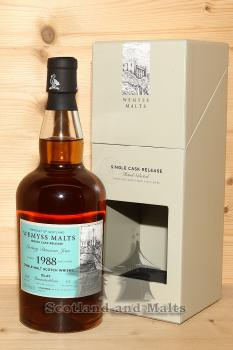 Bunnahabhain 1988 / 2018 - Luxury Damson Jam - 30 Jahre Sherry Puncheon mit 46,0% von Wemyss Malts - single Malt scotch Whisky