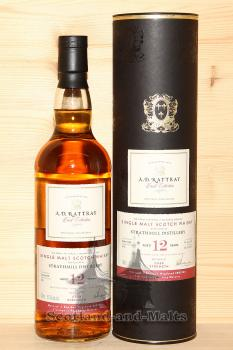 Strathmill 2006 - 12 Jahre Bourbon Hogshead No. 801534 + finished in PX Sherry Octaves mit 57,3% - A. D. Rattray