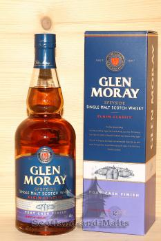 Glen Moray Port Cask Finish - Speyside single Malt scotch Whisky mit 40,0%