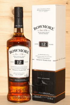 Bowmore 12 Jahre Islay single Malt scotch Whisky mit 40,0%