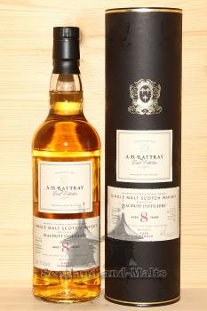 Macduff 2009 - 8 Jahre Bourbon Hogshead No. 701264 mit 57,0% single Malt scotch Whisky von A.D. Rattray