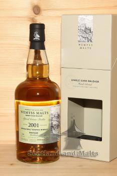 Mortlach 2001 / 2018 - Spiced Creme Brulee - 17 Jahre Bourbon Hogshead mit 46,0% single Malt scotch Whisky von Wemyss Malts