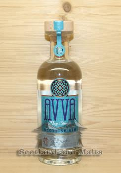 AVVA Navy Strength Scottish Gin - Small Batch Gin from Moray Distillery mit 57,2% - Gin aus Schottland