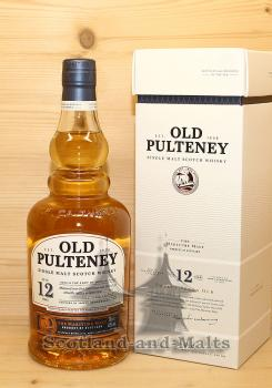 Old Pulteney 12 Jahre single Malt scotch Whisky