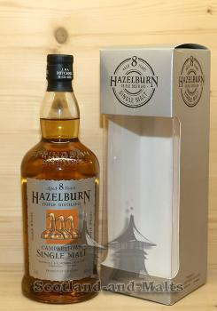 Hazelburn 8 Jahre - Triple Distilled single Malt scotch Whisky - Springbank Distillery