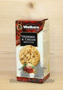 Strawberries and Cream Biscuits 150g / Walkers Kekse