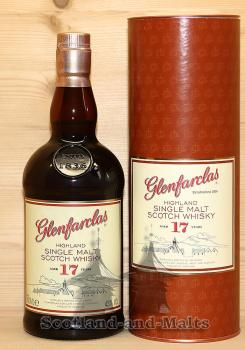 Glenfarclas 17 Jahre Highland Single Malt Scotch Whisky mit 43,0%