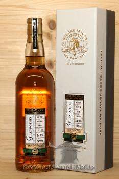 Glenrothes 1987 - 25 Jahre Oak Cask No. 5839 mit 54,0% - Duncan Taylor New Dimension
