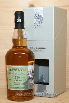 Glenrothes 1996 / 2017 - Fruit and Nut Bake - 21 Jahre Bourbon Hogshead mit 46,0 % - Wemyss Malts