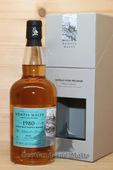 Caol Ila 1980 / 2015 - The Admirals Beacon - 35 Jahre Bourbon Hogahead mit 46,0 % - Wemyss Malts