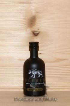Wolfburn Northland Miniatur - single Malt scotch Whisky - Wulfburn Distillery