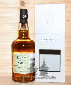 Dailuaine 2001 / 2018 - Lotions and Potions - 17 Jahre Bourbon Hogshead mit 46,0 % von Wemyss Malts - single Malt scotch Whisky