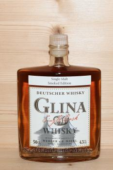 Glina Whisky 4 Jahre Single Malt Smoked Edition mit 43,0%