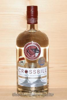Crossbill small Batch Scottish Dry Gin mit 43,8% - Gin aus Schottland