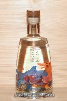 "Wild Island Botanic Gin ""High Croft"" - Isle of Colonsay - Small Batch Scottish Gin mit 43,4% - Gin aus Schottland"