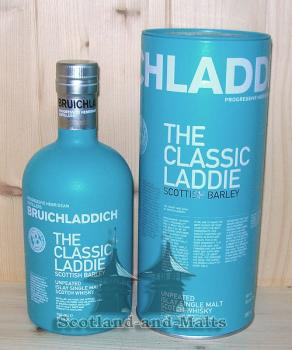 Bruichladdich The Classic Laddie - scottish Barley Unpeated Islay single Malt scotch Whisky mit 50%