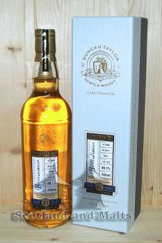 Daluaine 1998 - 15 Jahre Oak Cask No. 10976 mit 54,6% - Duncan Taylor New Dimension