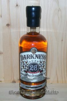 Glenrothes 26 Jahre - 3 Monate Oloroso Sherry Cask mit 52,0% - Darkness Limited Edition