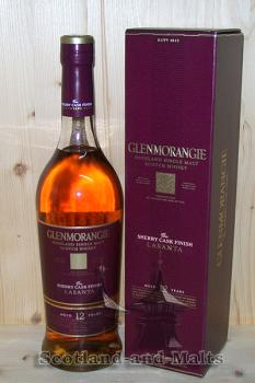 Glenmorangie Lasanta 12 Jahre - Sherry Cask Finish - single Malt scotch Whisky