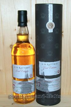 Glen Moray 1998 - 17 Jahre Bourbon Hogshead No. 3443 mit 54,8% - A.D.Rattray