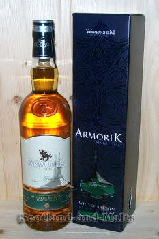 Armorik Dervenn 2016 - small Batch Breton Oak Casks mit 46% - single Malt Whisky aus Frankreich