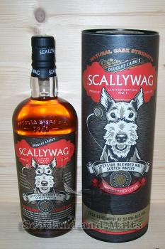 Scallywag Cask Strength Limited Edition No.1 mit 53,6% - Speyside Blended Malt Scotch Whisky - Douglas Laing