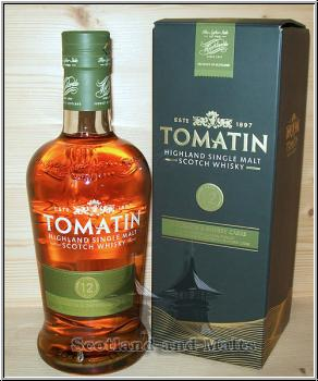 Tomatin 12 Jahre -  Highland single Malt scotch Whisky