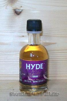 Hyde 6 Jahre - No. 5 Burgundy Cask Finish Miniatur - single Grain irish Whiskey