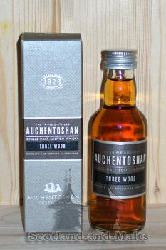 Auchentoshan Three Wood - Miniatur