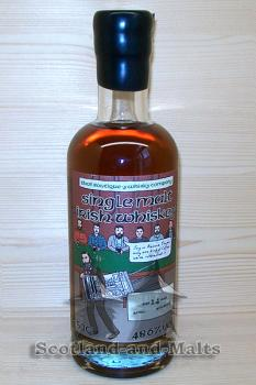 Irish Single Malt #2 - 14 Jahre Batch 1 mit 48,6% That Boutique-y Whisky Company
