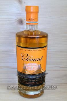 Clement Liqueur Créole Shrubb Orange Martinique / Rum mit Orangen aus Martinique