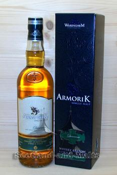 Armorik Dervenn 2017 - small Batch Breton Oak Casks mit 46% - single Malt Whisky aus der Bretagne (Frankreich)