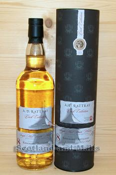 Knockdhu 2009 - 8 Jahre Bourbon Cask (+ fresh Bourbon Finish) No. 700303 mit 59,6% - A.D.Rattray