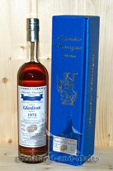 Glenlivet 1972 - 36 Jahre Fino Sherry Cask + 10 Monate Jamaica Rum Finish (Cask from Long Pond Distillery) mit 44.9% - Alambic Classique Collection