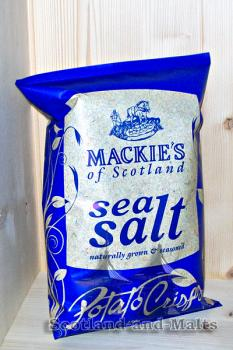 Mackies of Scotland - Sea Salt - 150g Potato Crisps