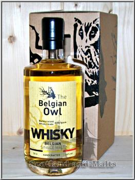 The Belgian Owl 36 Monate first fill Bourbon Cask - Single Malt Whisky aus Belgien / Sample ab
