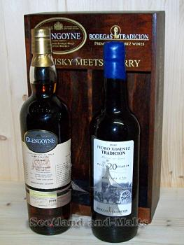 Glengoyne 13 Jahre Sherry Cask mit 50,9% - Whisky meets Sherry 2nd Edition Pedro Ximénez / One Cask - Two Brands